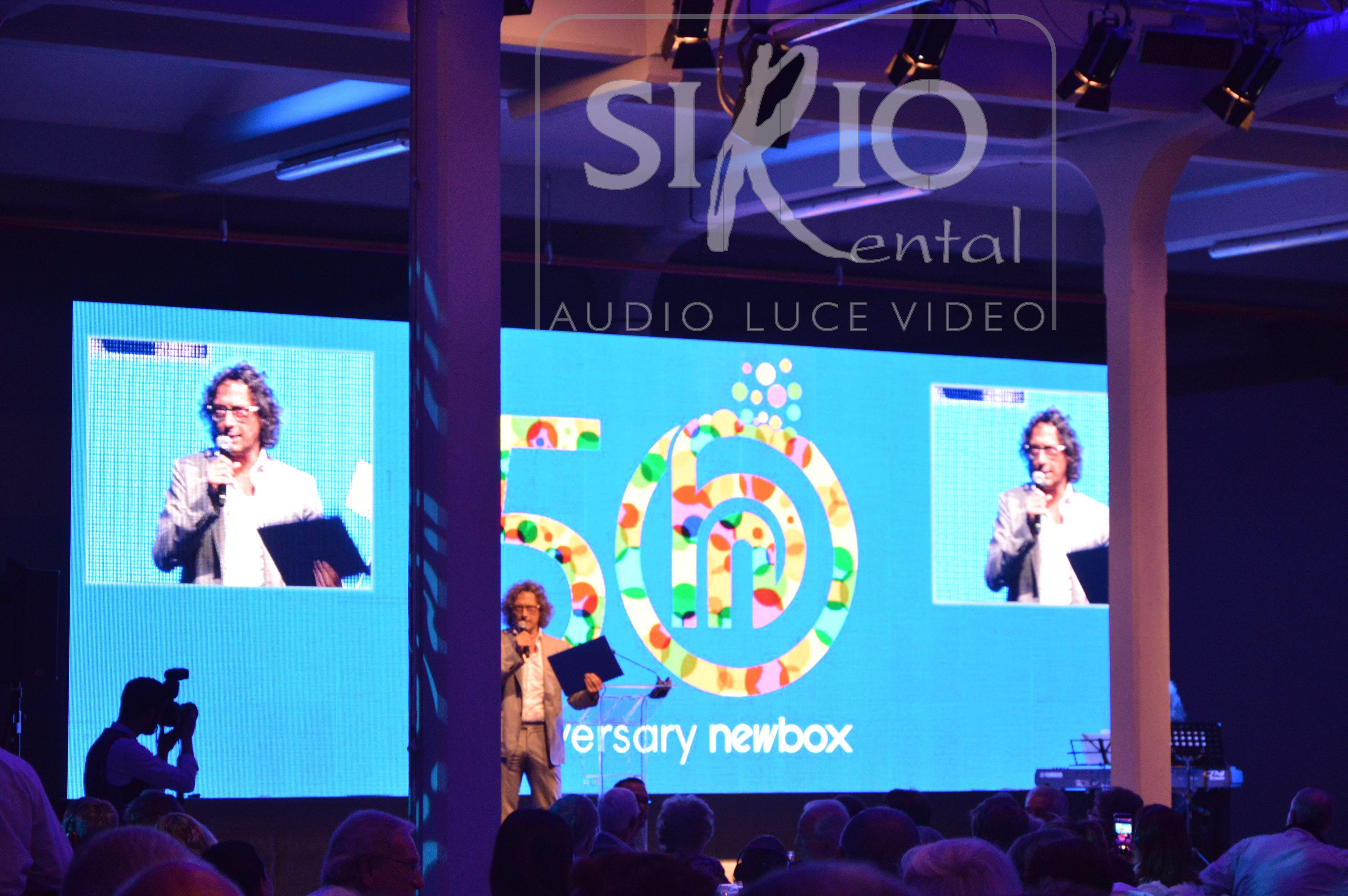 newbox 50 esimo aziendale tondello tecnologie luci audio video ledwall