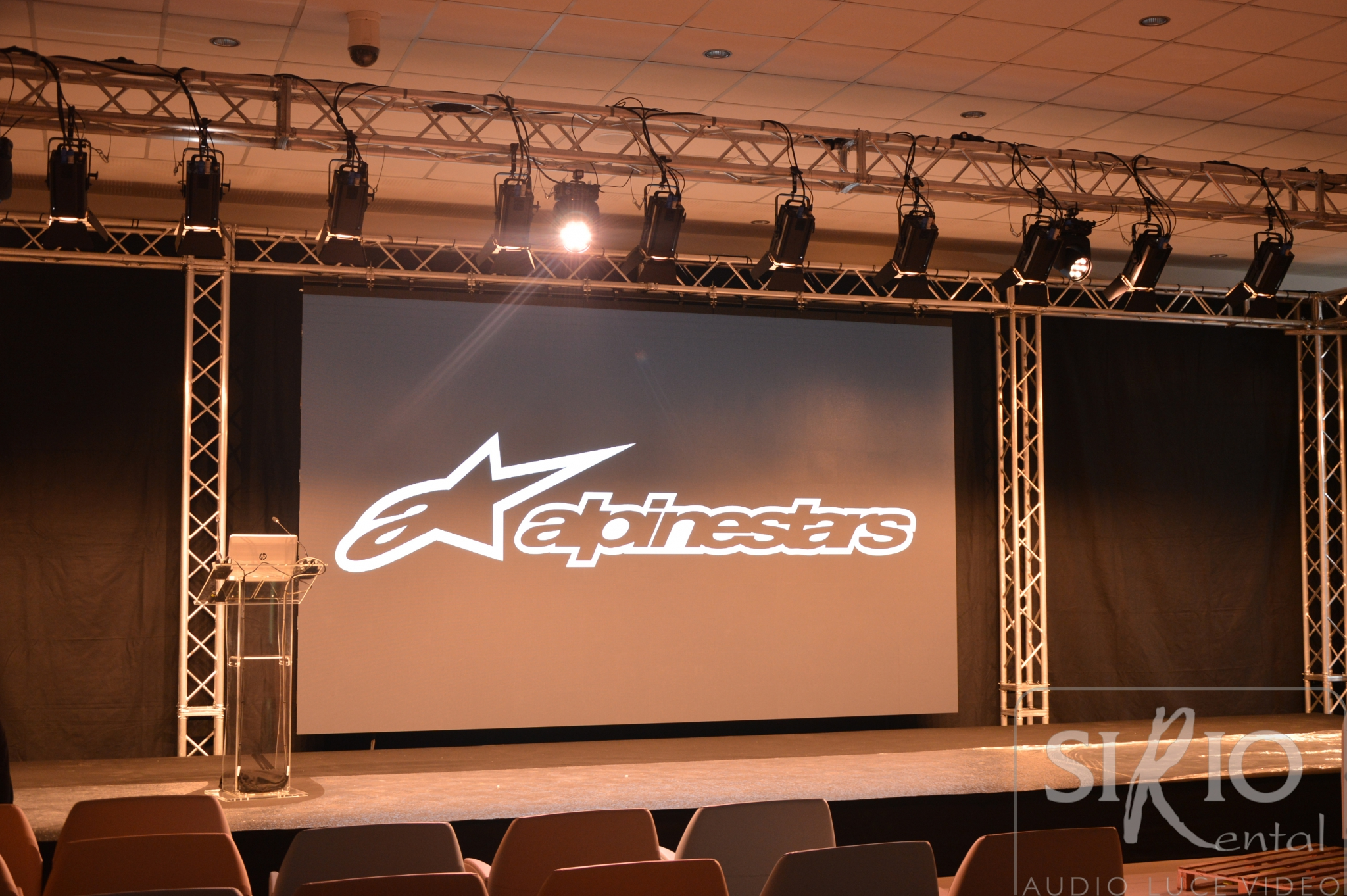 alpinestar convention luci audio video ledwall tondello tecnologie